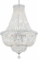 Crystorama ROS-A1009-CH-CL-MWP Rosyln Polished Chrome Mini Lighting Chandelier