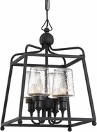 Crystorama SYL-2285-SD-BF Sylvan Black Forged Exterior Pendant Hanging Light