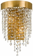 Crystorama WIN-612-GA-CL-MWP Winham Antique Gold Lighting Sconce