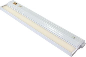 csl ECL-16-WT-4 Eco-Counter Edgelit Contemporary White LED 16 Under Cabinet Light