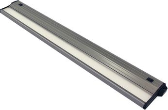 csl ECL-24-SA-4 Eco-Counter Edgelit Contemporary Satin Aluminum LED 24  Under Counter Lighting