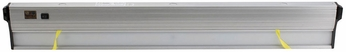 CSL ECL-24-SA Eco Counter Modern Satin Aluminum LED Dimmable 24  Under Cabinet Lighting