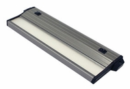 csl ECL-8-SA-4 Eco-Counter Edgelit Modern Satin Aluminum LED 8  Under Counter Lighting