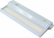 csl ECL-8-WT-4 Eco-Counter Edgelit Modern White LED 8  Undercabinet Lighting