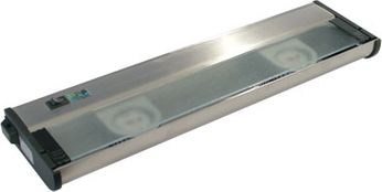 CSL NCA-LED-16-SS Counter Attack Contemporary Stainless Steel LED 16  Under Counter Lighting