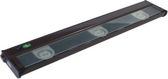 CSL NCA-LED-24-BZ Counter Attack Contemporary Bronze LED 24 Cabinet Lighting