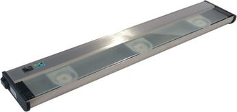 CSL NCA-LED-24-SS Counter Attack Modern Stainless Steel LED 24  Under Cabinet Lighting