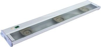 CSL NCA-LED-24-WT Counter Attack Contemporary White LED 24 Under Cabinet Light