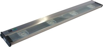 CSL NCA-LED-32-SS Counter Attack Contemporary Stainless Steel LED 32  Under Counter Lighting