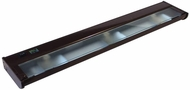 CSL NCAX-120-24 New Counter Attack Contemporary Bronze Xenon 24  Under Counter Lighting