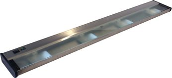 CSL NCAX-120-32 New Counter Attack Contemporary Stainless Steel Xenon Under Cabinet Light