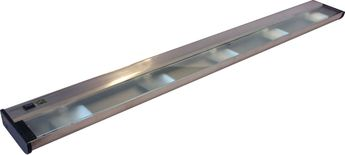 CSL NCAX-120-40 New Counter Attack Contemporary Stainless Steel Xenon 40  Cabinet Lighting