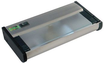 CSL NCAX-120-8 New Counter Attack Modern Stainless Steel Xenon 8 Under Cabinet Lighting