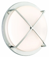 CSL SS1045A-CH Intrigue Fluorescent Flush Mount Ceiling or Wall Light - 16 inches