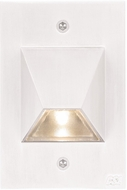 CSL SS3003-WT Steplight Modern Mate White LED Exterior Step Lighting