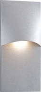 CSL SS3007-SM Modern Silver Metallic LED Exterior Step Lighting