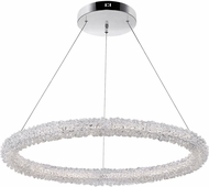 CWI 1042P17-601-R Arielle Chrome LED Pendant Lamp