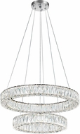 CWI 1044P32-601-R-2C-B Madeline Chrome LED Drop Lighting