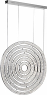 CWI 1046P37-6-601 Celina Chrome LED Pendant Light