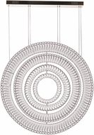 CWI 1046P42-4-601 Celina Chrome LED Pendant Lamp