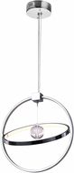 CWI 1054P17-601 Colette Contemporary Chrome LED Hanging Light