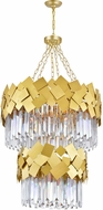 CWI 1100P24-10-169 Panache Medallion Gold 24  Pendant Light