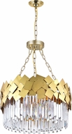 CWI 1100P24-6-169 Panache Medallion Gold 24  Lighting Pendant