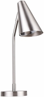 CWI 1124T10-1-613 Cupola Contemporary Polished Nickel Desk Lamp