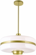 CWI 1143P16-1-270 Elementary Contemporary Pearl Gold 16 Pendant Light Fixture