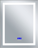 CWI 1232W32-40-B-6000K Abril Contemporary Matte White LED Wall Mounted Mirror