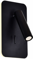CWI 1243W6-101 Private I Contemporary Matte Black LED Wall Sconce