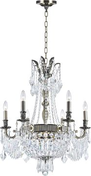 CWI 2048P25AB-9 Brass Antique Brass Hanging Chandelier