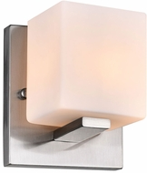 CWI 5442W6SN Satin Nickle Contemporary Satin Nickel Halogen Wall Sconce Light