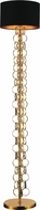 CWI 5627F11G Chained Contemporary Gold Lighting Floor Lamp
