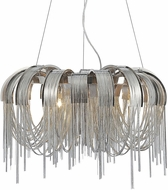 CWI 5637P24C Shirley Contemporary Chrome Halogen 24  Drop Lighting
