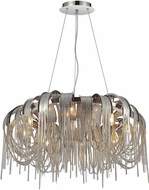 CWI 5637P32C Shirley Contemporary Chrome Halogen 32  Drop Ceiling Lighting