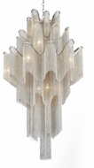 CWI 5650P32C Daisy Contemporary Chrome 32  Hanging Pendant Lighting