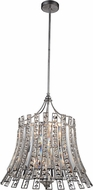 CWI 5683P21-8-190 Nile Antique Forged Silver Drop Lighting Fixture