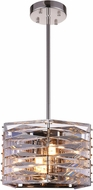 CWI 5700P10-3-613 Squill Polished Nickel Halogen 10  Drop Ceiling Lighting