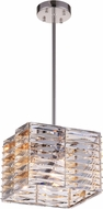 CWI 5700P11-4-613 Squill Polished Nickel Halogen 11  Ceiling Light Pendant