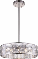 CWI 5700P29-12-613 Squill Polished Nickel Halogen 29  Pendant Lighting