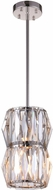 CWI 5700P6-2-613 Squill Polished Nickel Halogen Mini Pendant Light