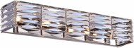 CWI 5700W26-4-613 Squill Polished Nickel Halogen 26 Bathroom Wall Sconce
