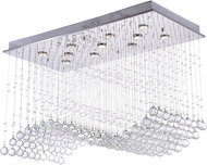 CWI 6611C37C Twinkle Chrome Halogen 37 Home Ceiling Lighting