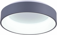 CWI 7103C24-1-167 Arenal Modern Gray & White LED 24 Ceiling Light Fixture