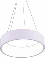 CWI 7103P24-1-104-A Arenal Modern White LED 24 Ceiling Light Pendant