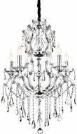 CWI 8398P32C-9 (Clear) Abby Chrome Lighting Chandelier