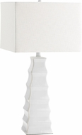 Cyan 01721 Emily White Table Lamp