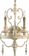Cyan 04161 Davinci Traditional Persian White Wall Lamp
