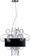 Cyan 04392 Jellyfish Contemporary Chrome Pendant Lighting Fixture
